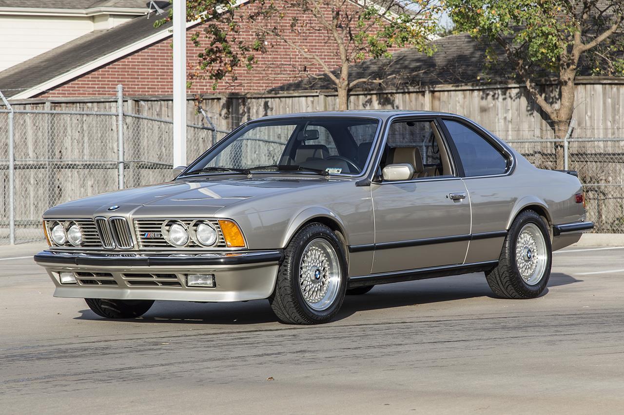 1984 BMW M6 E26 Euro