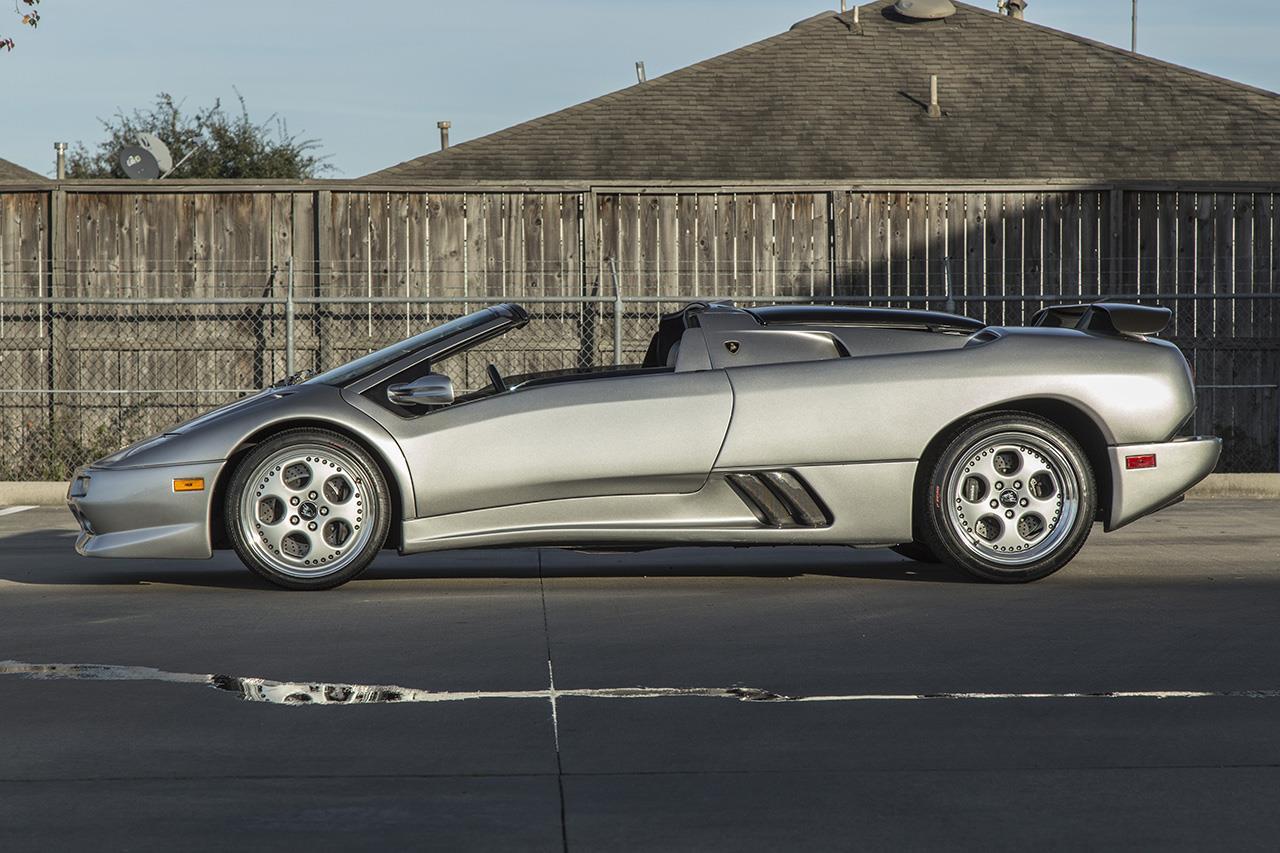 1999 Lamborghini Diablo Vt Roadster Millennium Edition