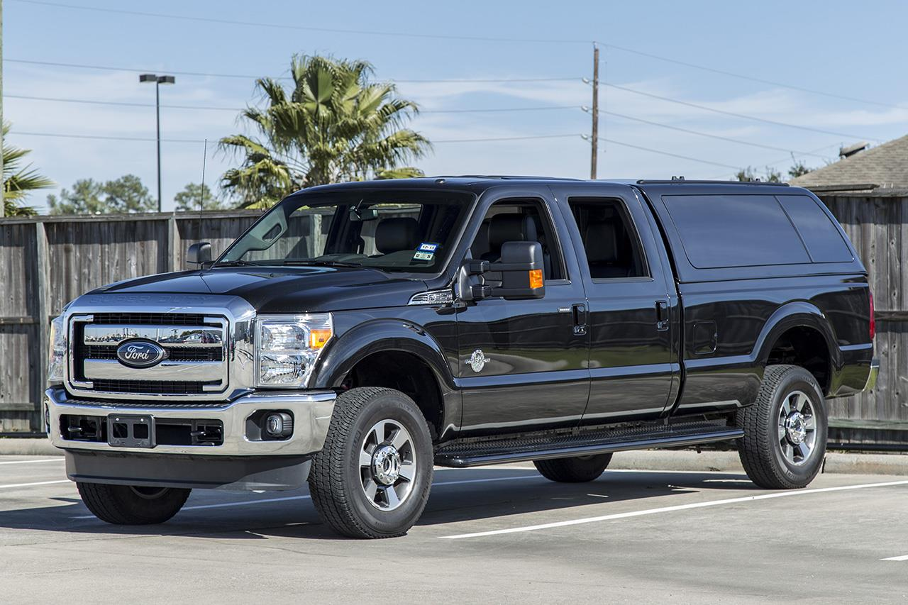 2013 Ford F-350 4X4 Lariat CrewCab SRW Long Bed Diesel