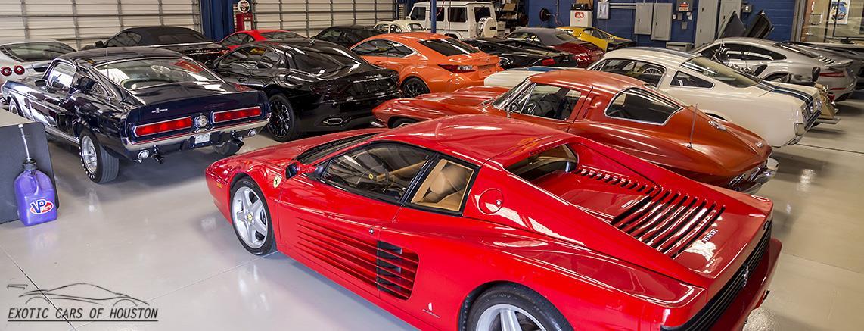 Ferrari Lamborghini Muscle Cars Exotic Cars Of Houston - Exotic car show houston