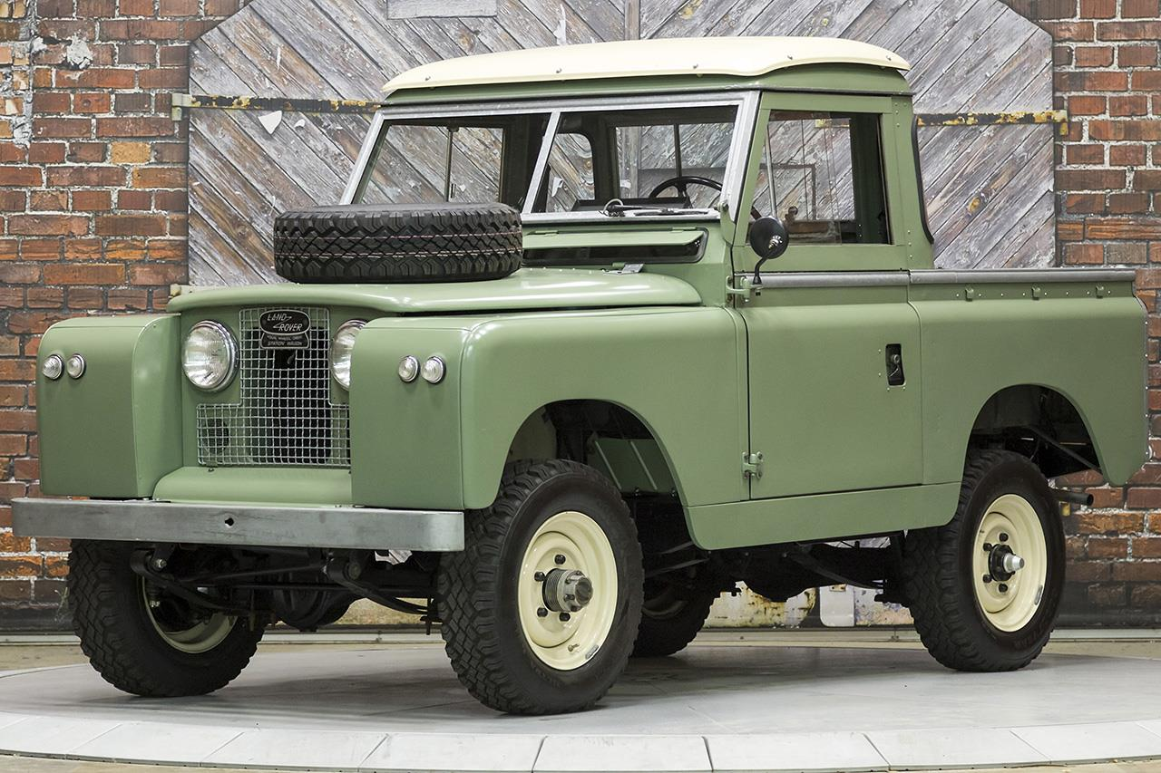 1966 Land Rover Series IIA 88 Inch Pickup