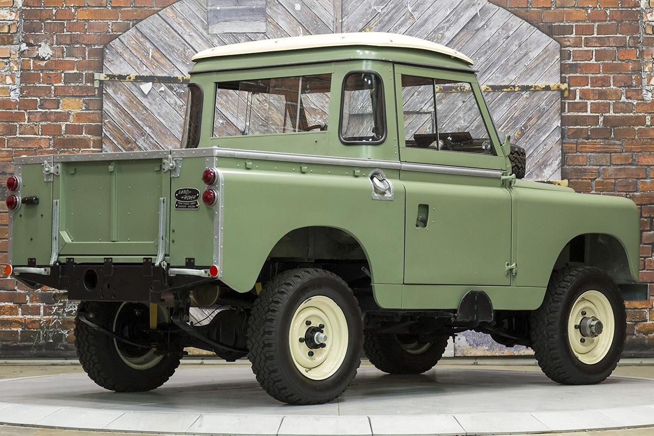1966 land rover series iia 88 inch pickup. Black Bedroom Furniture Sets. Home Design Ideas