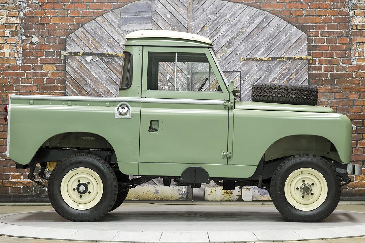 Land Rover Houston North >> 1966 Land Rover Series IIA 88 Inch Pickup