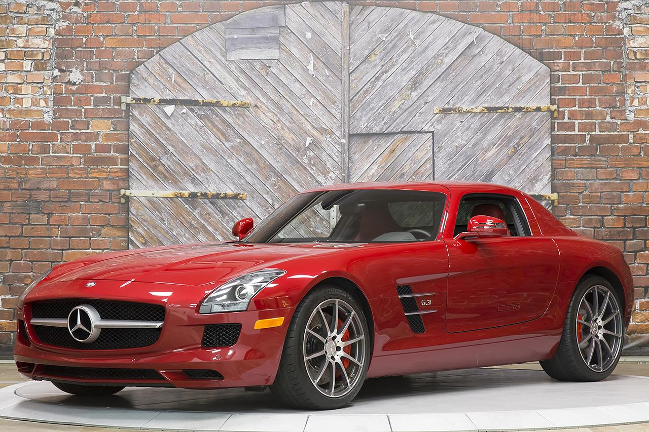 2012 Mercedes Benz SLS AMG Gullwing Coupe