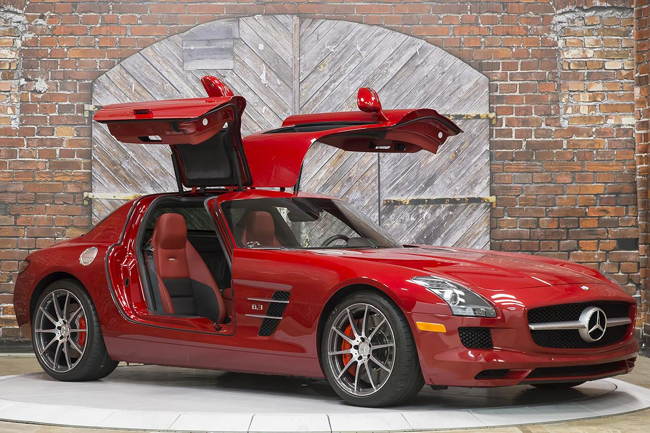 2012 mercedes benz sls amg gullwing coupe for Mercedes benz amg gullwing