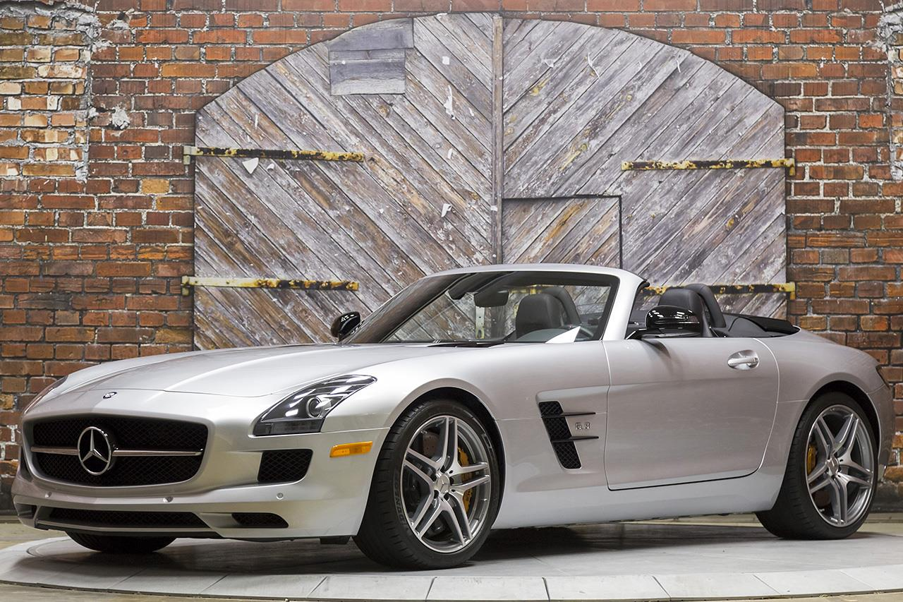 2013 Mercedes Benz SLS AMG GT Roadster