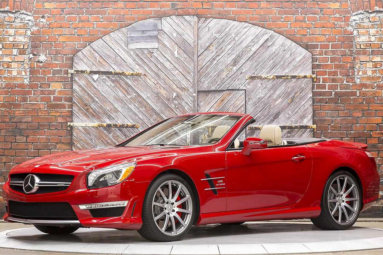 2015 Mercedes Benz SL63 AMG Roadster