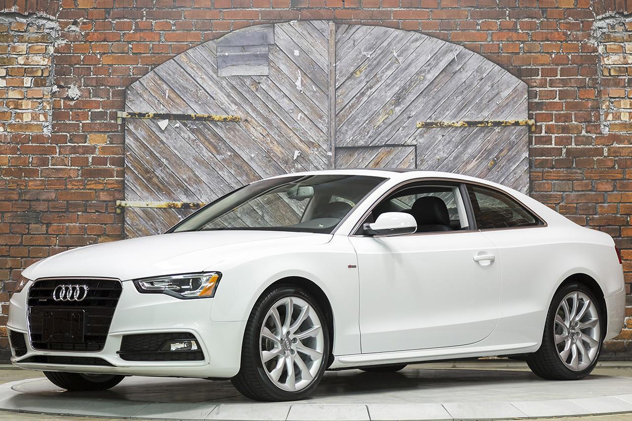 2015 Audi A5 2.0T Premium Plus quattro Tiptronic