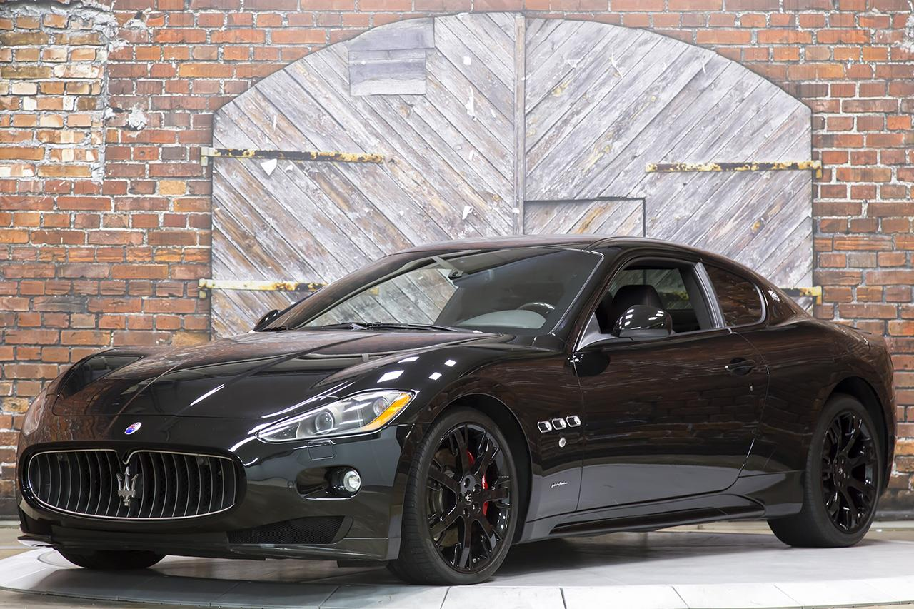 2011 Maserati GranTurismo S MC Sport Line