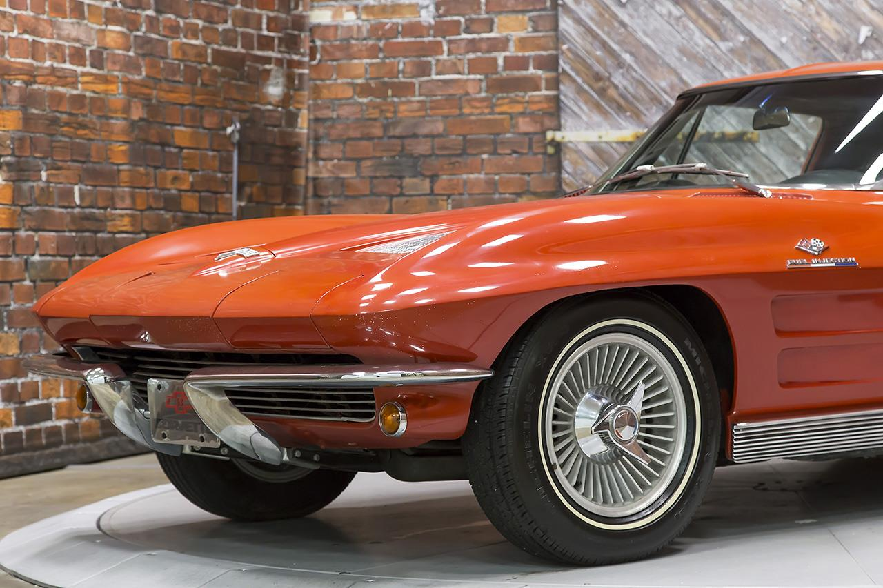 1963 chevrolet corvette sting ray split window fuelie for 1963 split window