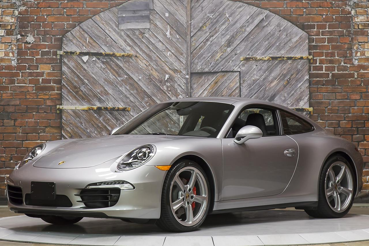 2015 Porsche 911 Carrera 4S Manual Coupe