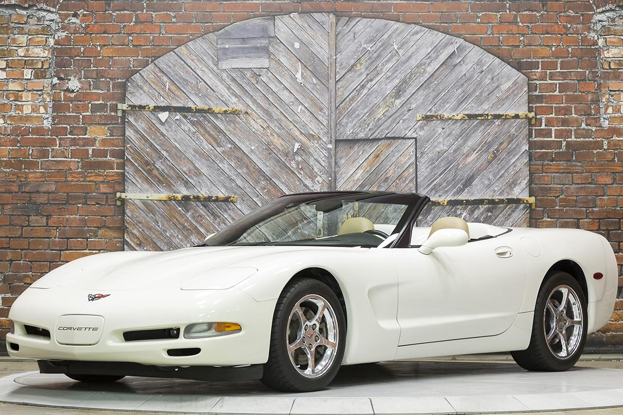 2001 Chevrolet Corvette Convertible 6-Speed Manual