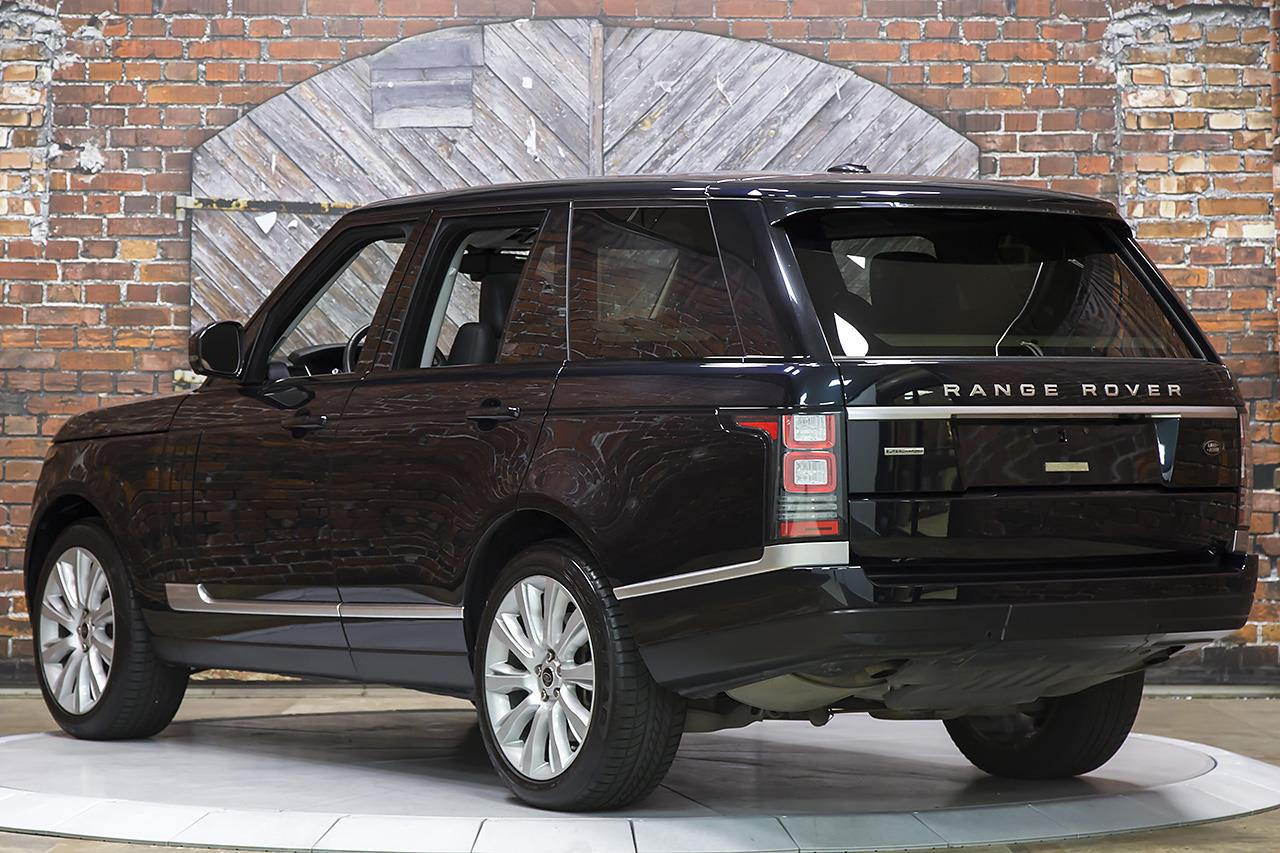 2013 land rover range rover supercharged. Black Bedroom Furniture Sets. Home Design Ideas