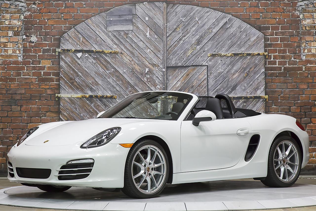 2014 Porsche Boxster 6-Speed
