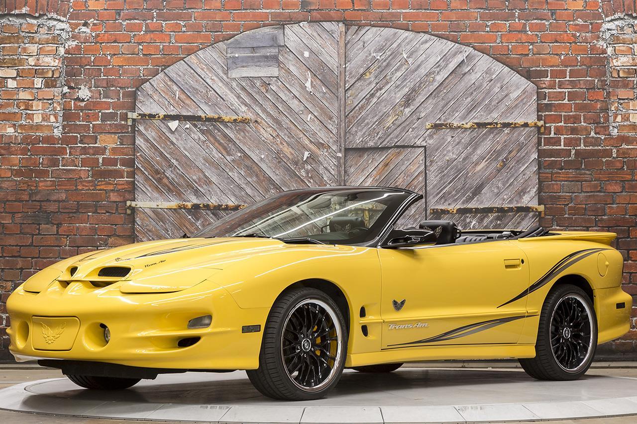 2002 Pontiac Firebird Trans Am WS6 Convertible Collector Edition