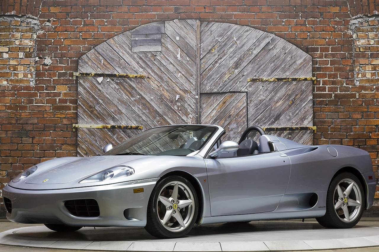 2002 Ferrari 360 6-Speed Spider