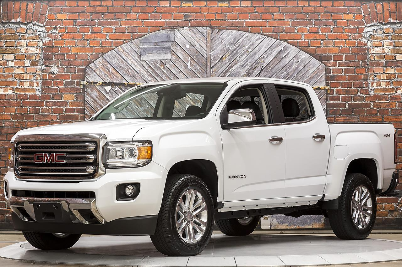 2017 GMC Canyon 4WD SLT Crew Short Box