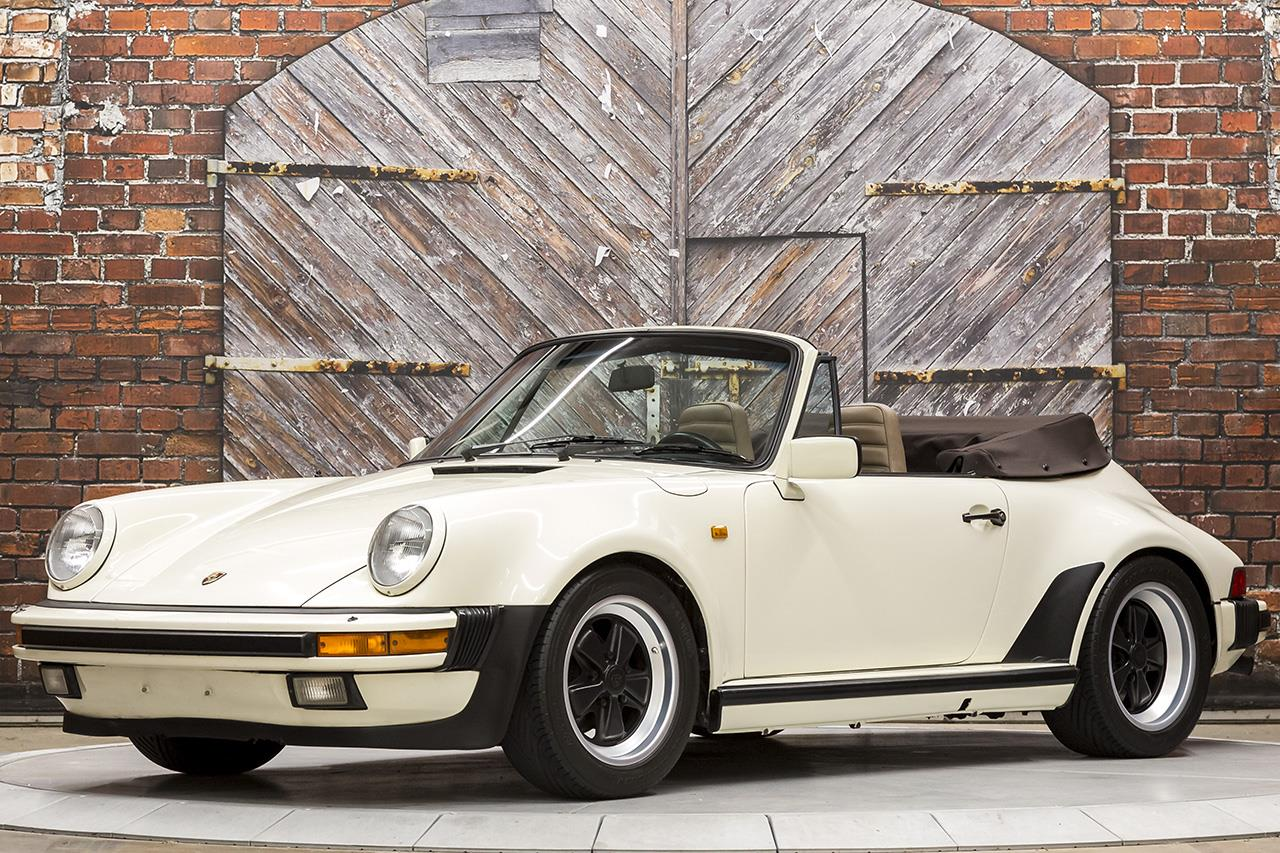 1984 Porsche 911 Carrera Cabriolet Turbo-Look