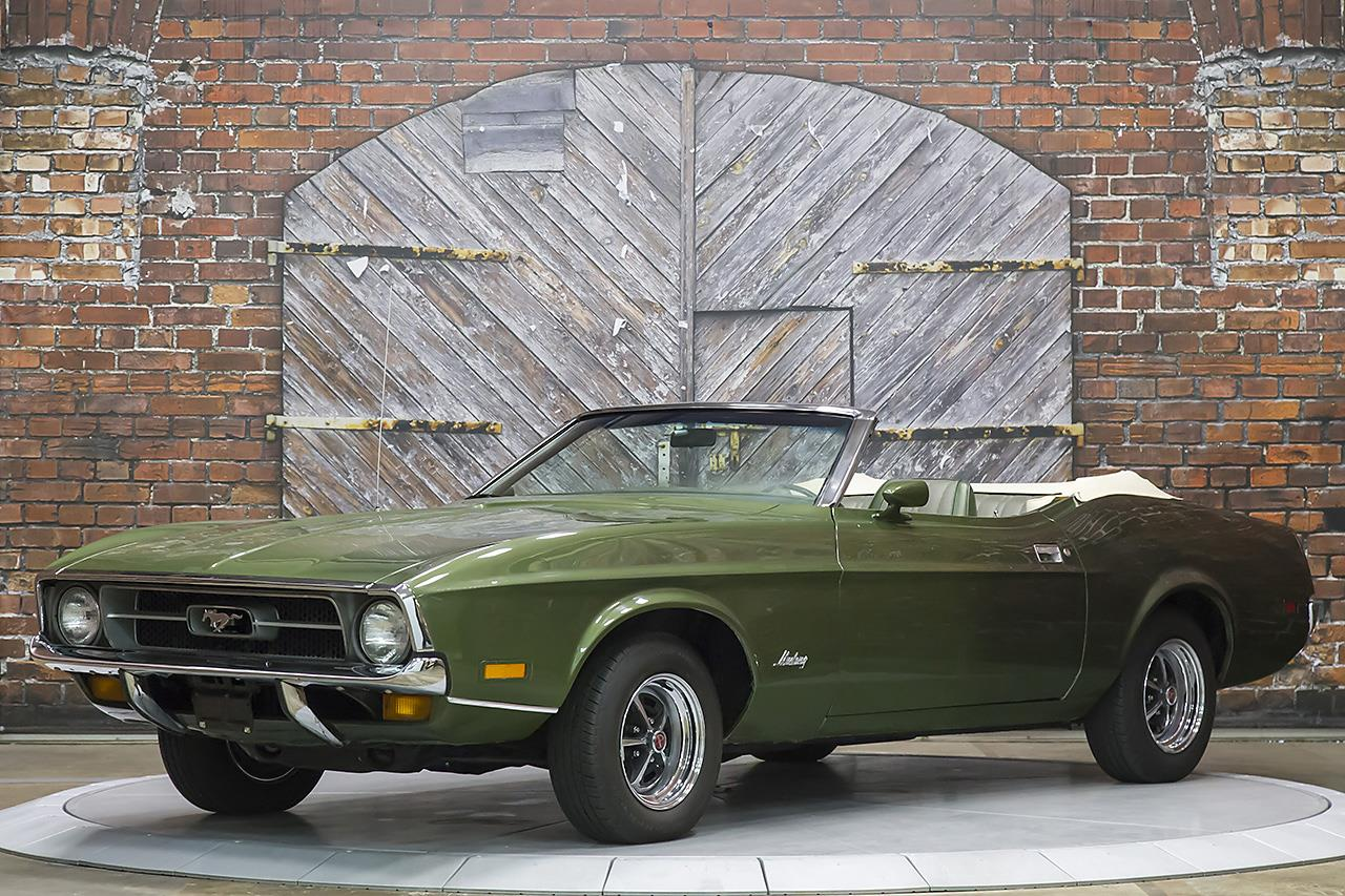 1972 Ford Mustang Convertible 4-Speed Manual