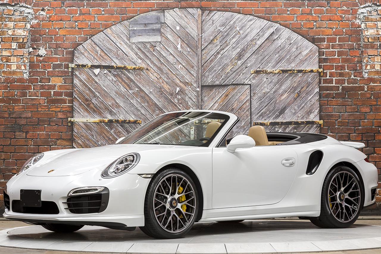 2015 Porsche 911 Turbo S Cabriolet 991