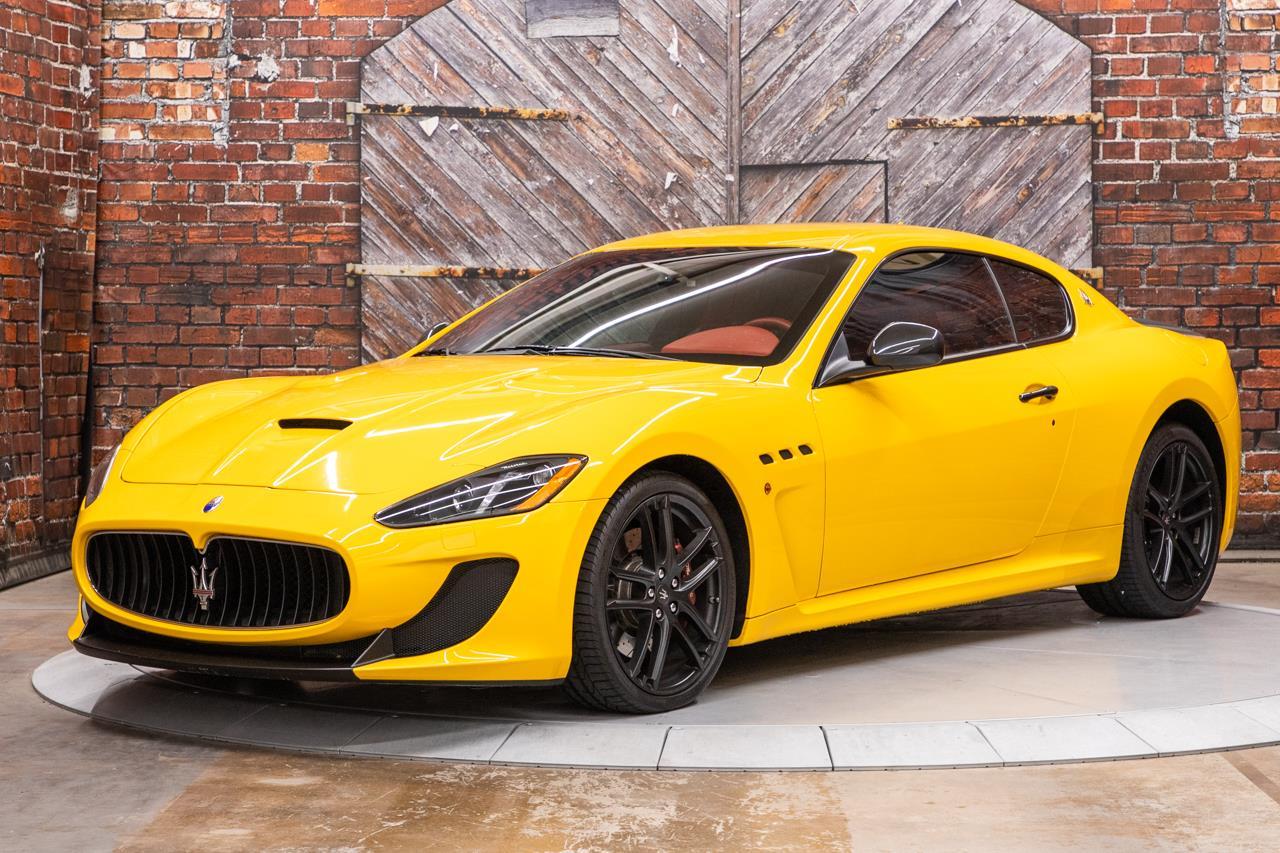 2016 Maserati GranTurismo MC Coupe