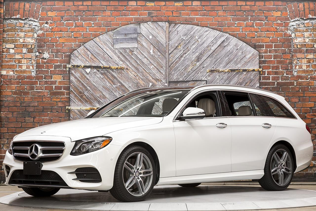 2017 Mercedes Benz E400 4Matic Wagon