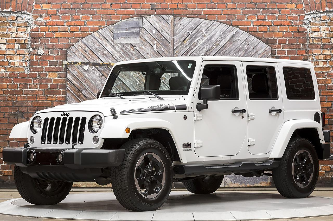 2014 Jeep Wrangler Unlimited Polar Edition 4X4 Auto