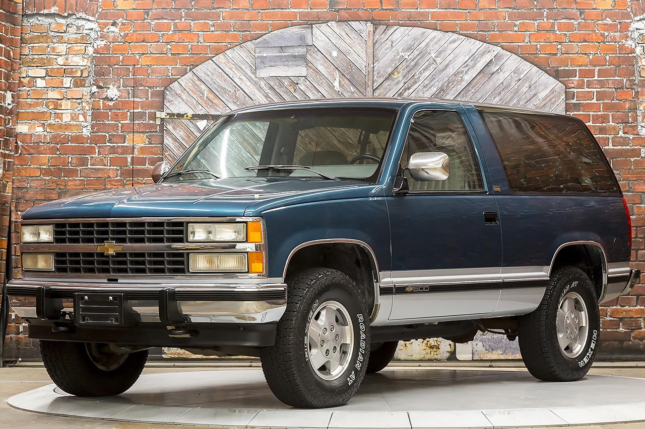 1992 Chevrolet Blazer Silverado 5-Speed Manual 4X4