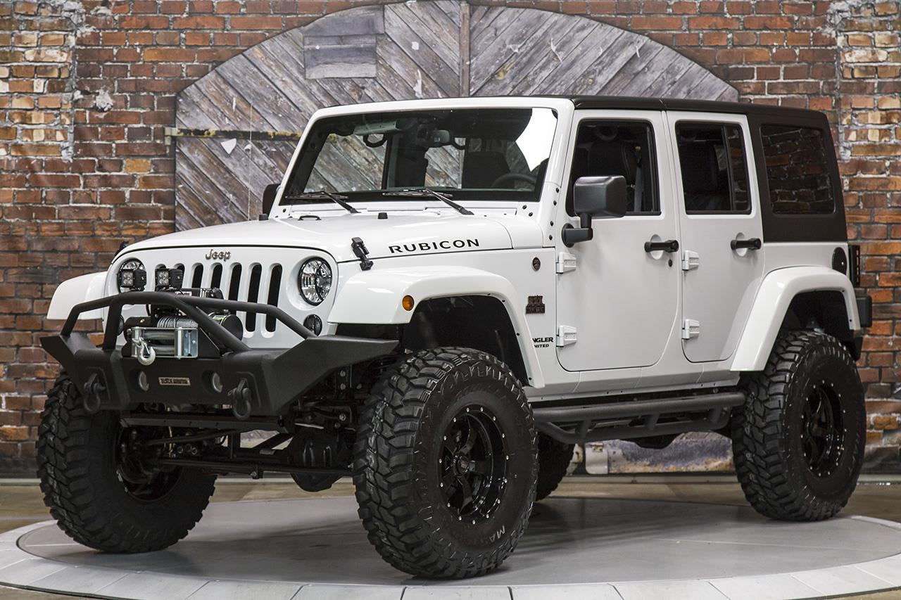 2015 Jeep Wrangler Unlimited Rubicon Manual
