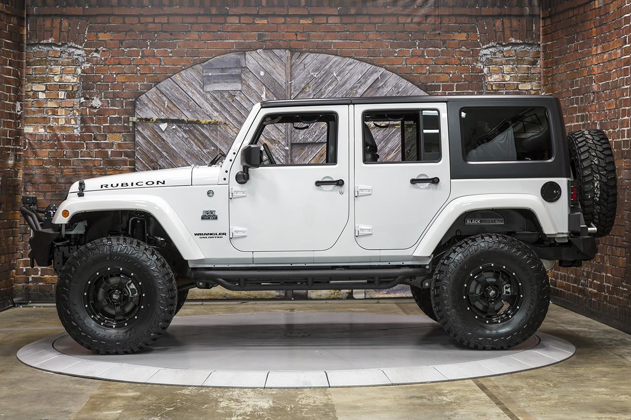 2016 Jeep Rubicon Manual