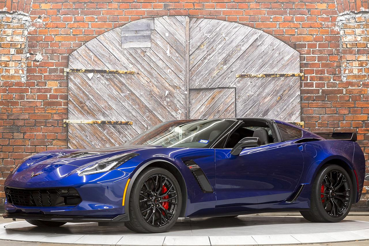 2018 Chevrolet Corvette Z06 3LZ Z07 7-Speed Manual Coupe