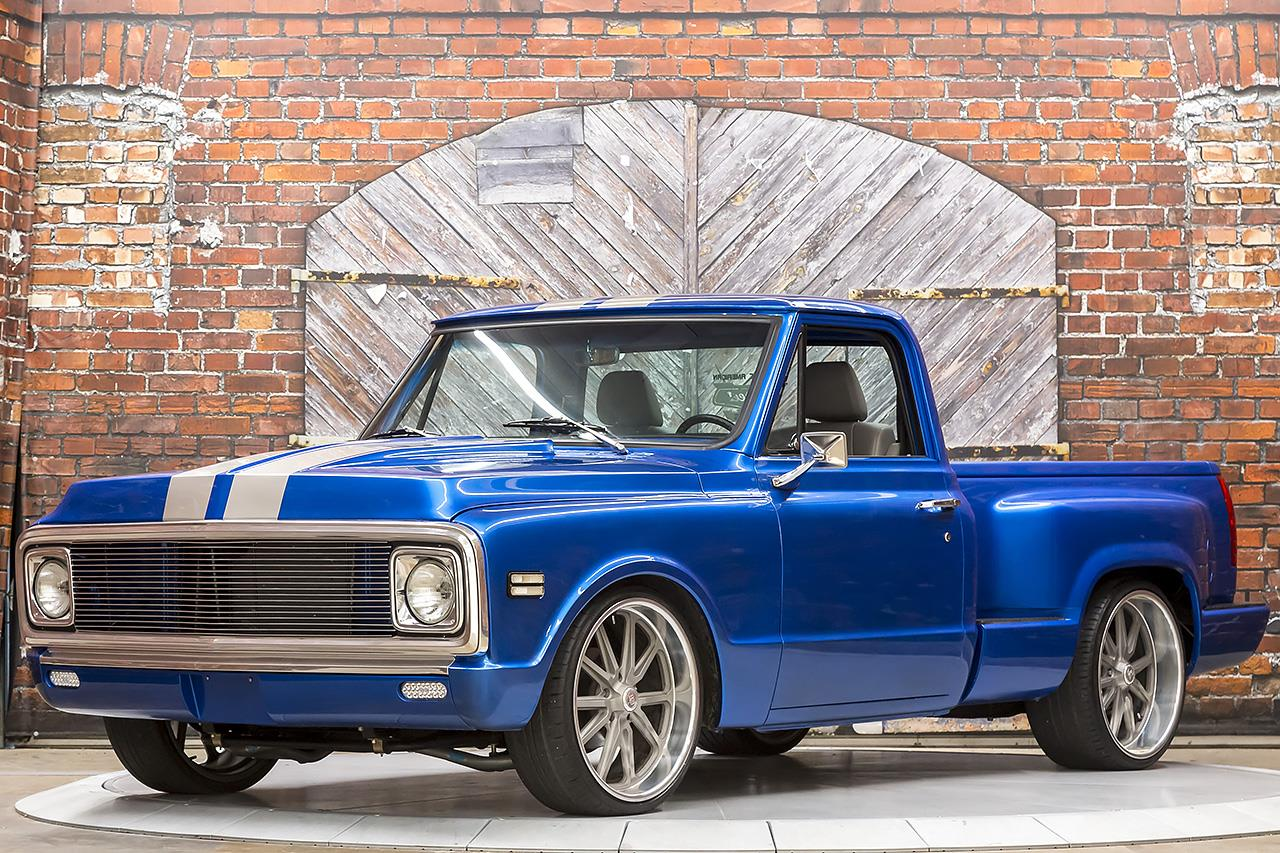1971 Chevrolet C10 Custom Stepside LT1