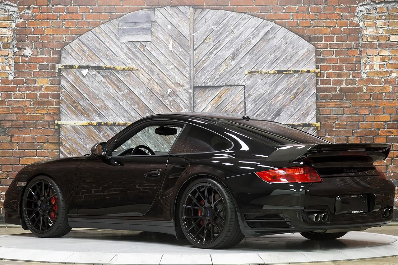 2009 Porsche 911 Turbo Coupe 997 6 Speed Manual