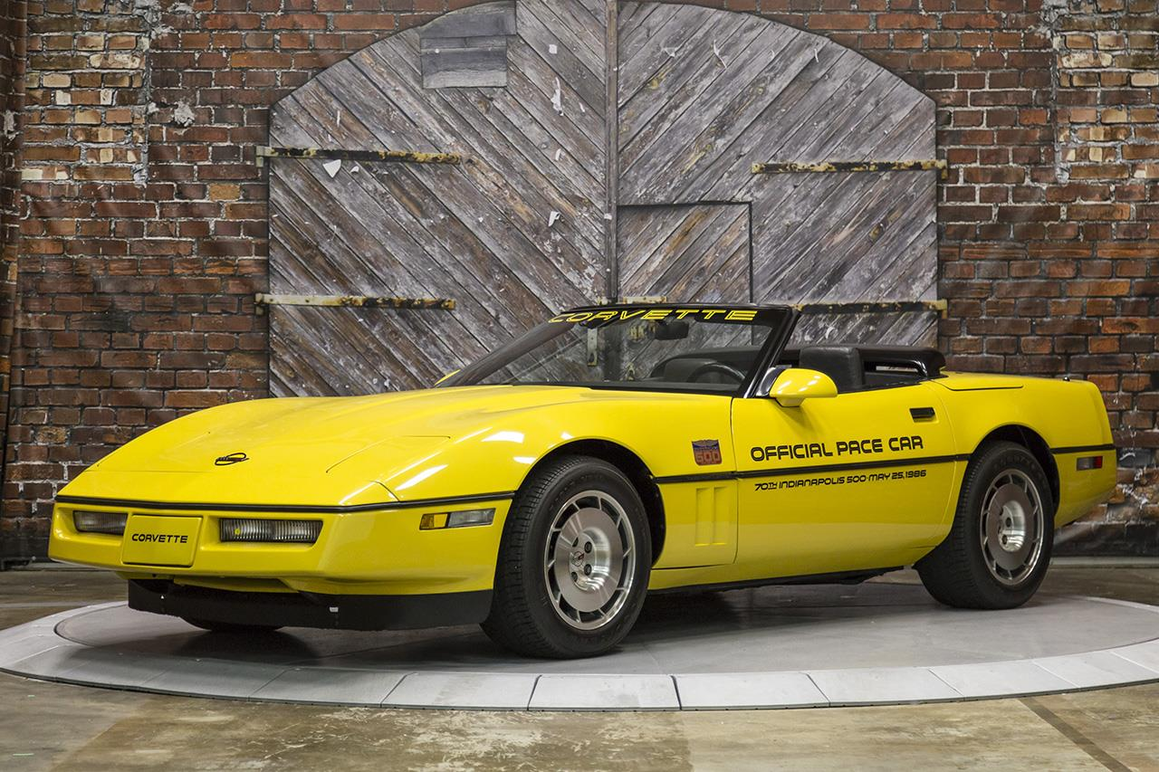 1986 Chevrolet Corvette Convertible Official Pace Car