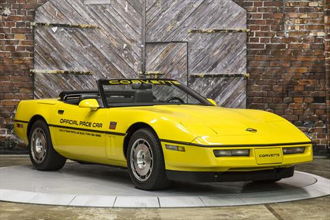 North Freeway Hyundai >> 1986 Chevrolet Corvette Convertible Official Pace Car