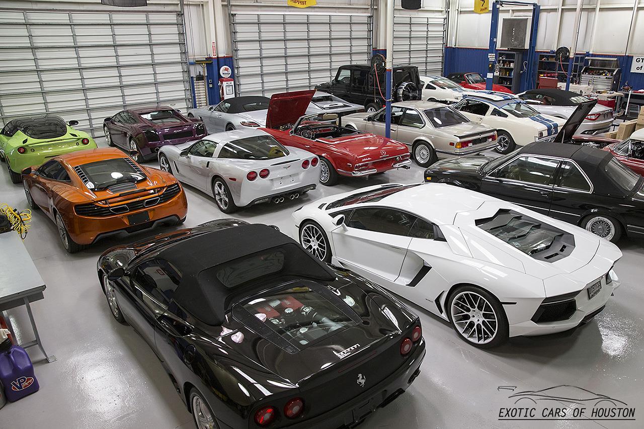 Lamborghini Gallardo Coupe EGear - Exotic car show houston
