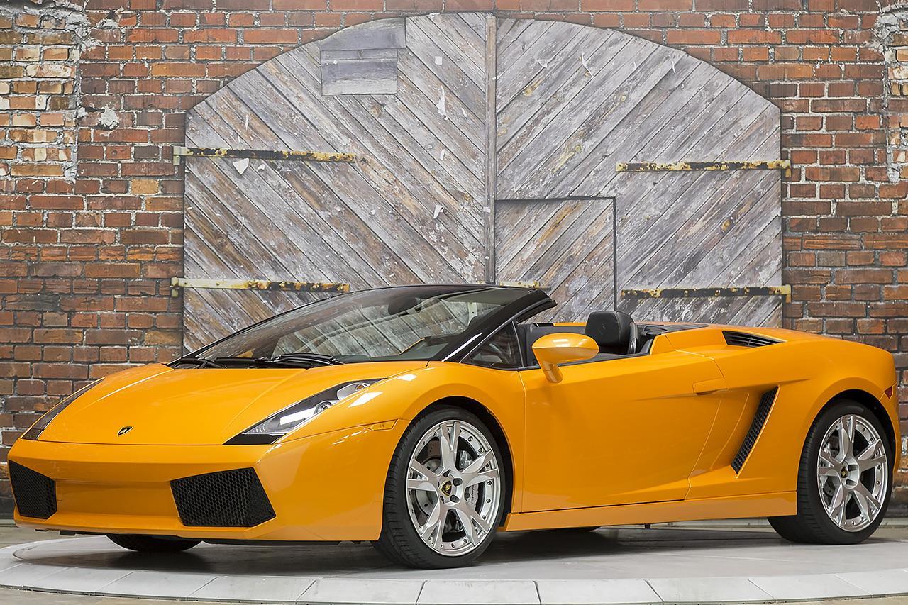 2008 Lamborghini Gallardo Spyder E-Gear