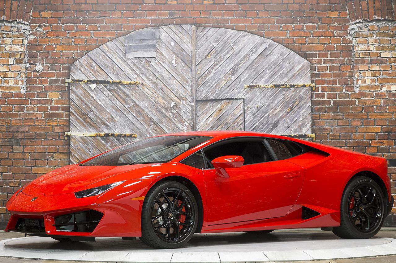2017 Lamborghini Huracan LP580-2 Coupe
