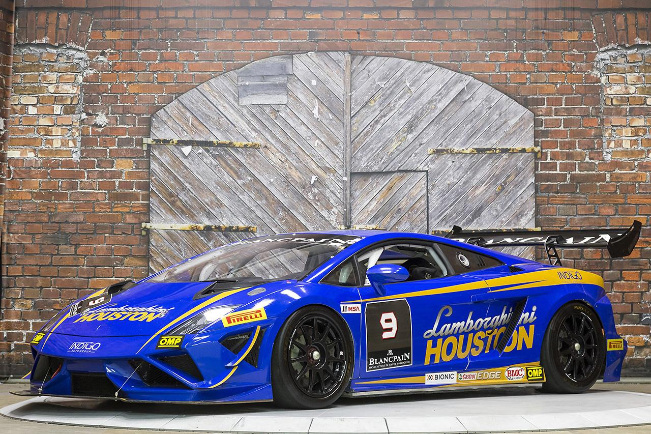 2013 Lamborghini Gallardo LP570-4 Super Trofeo Lamborghini Houston Race Car