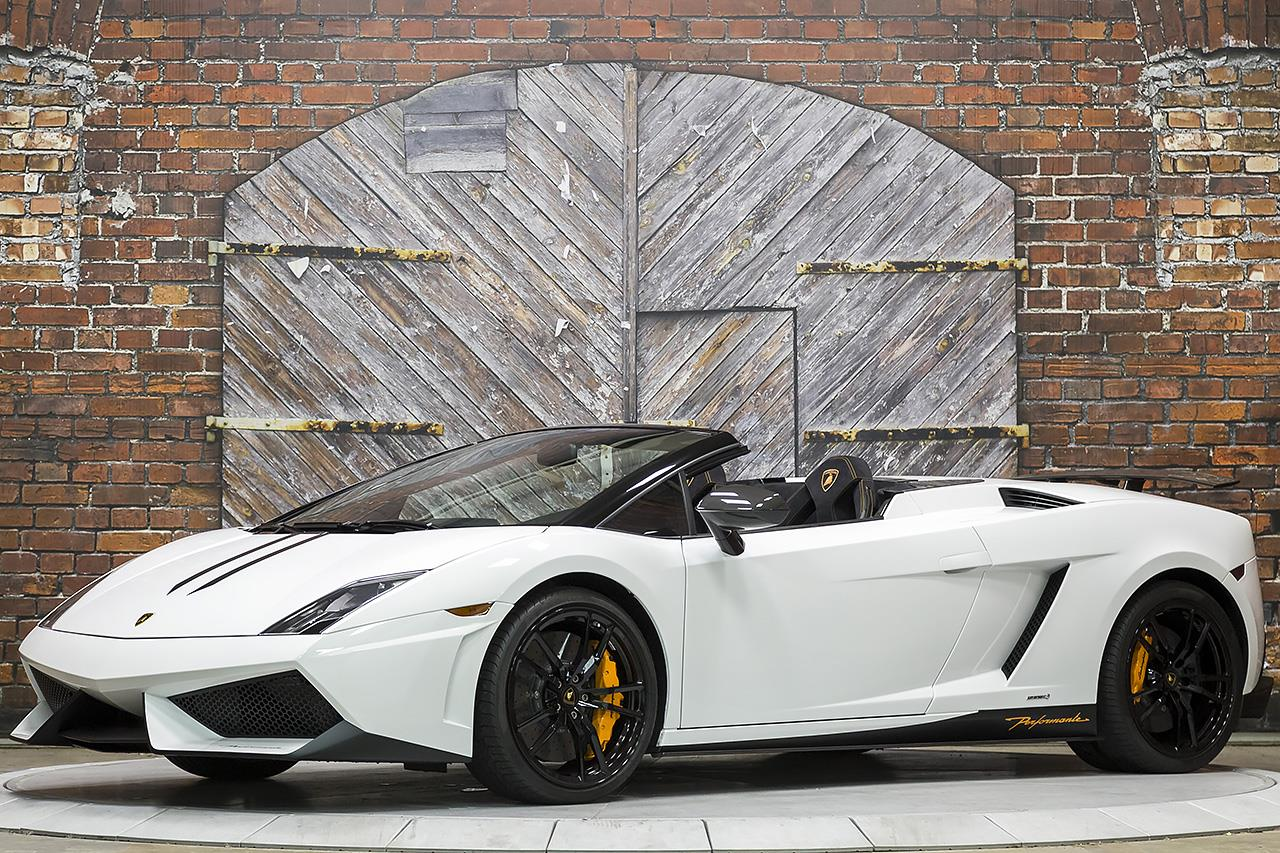 2014 Lamborghini Gallardo LP570-4 Spyder Performante E-Gear