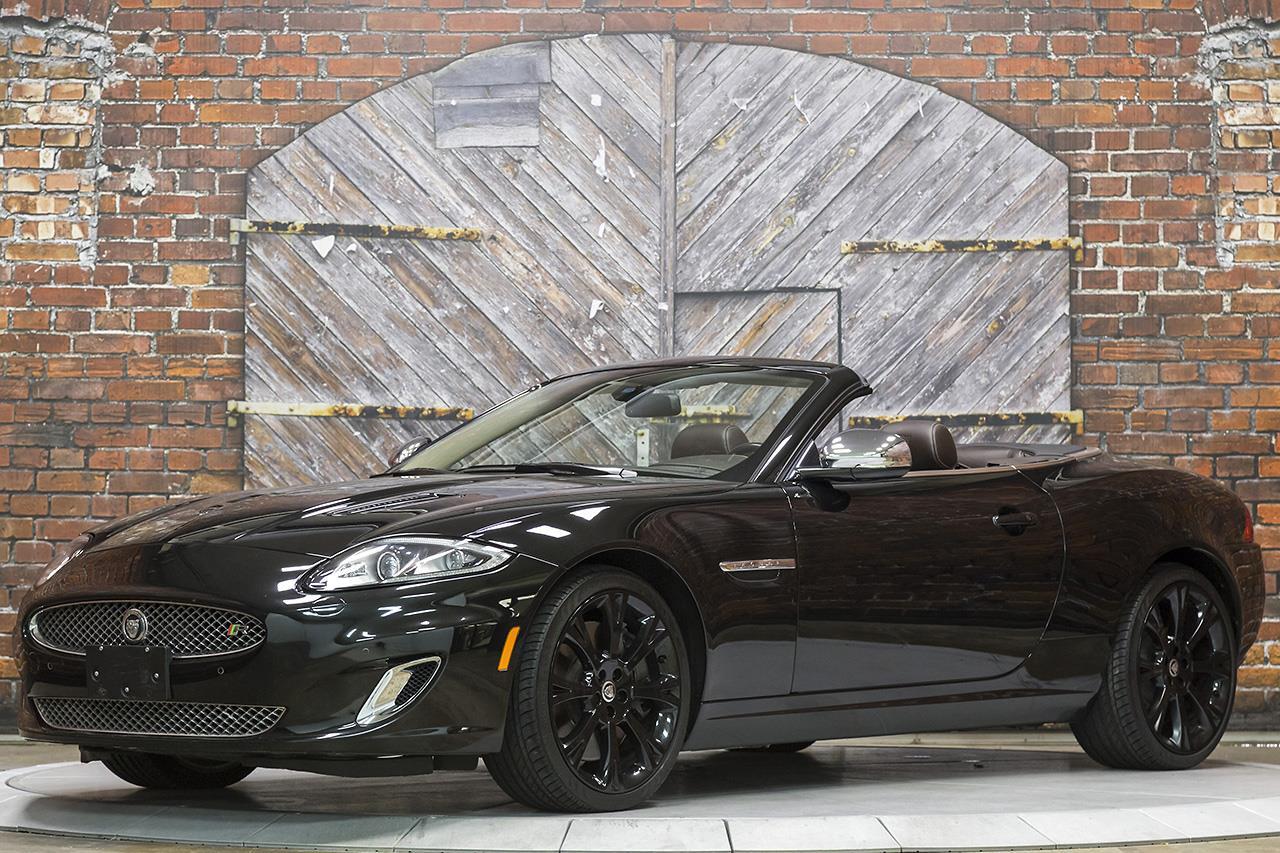 2013 Jaguar XKR Convertible Portfolio Package