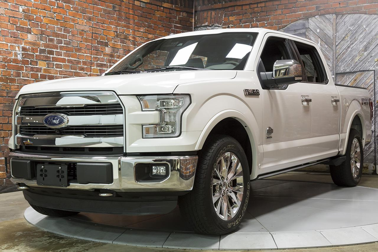 2015 Ford F-150 4X4 SuperCrew EcoBoost King Ranch