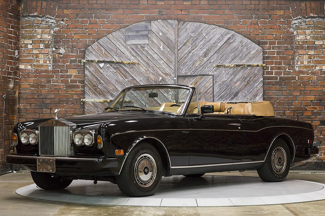 1990 Rolls Royce Corniche III Convertible