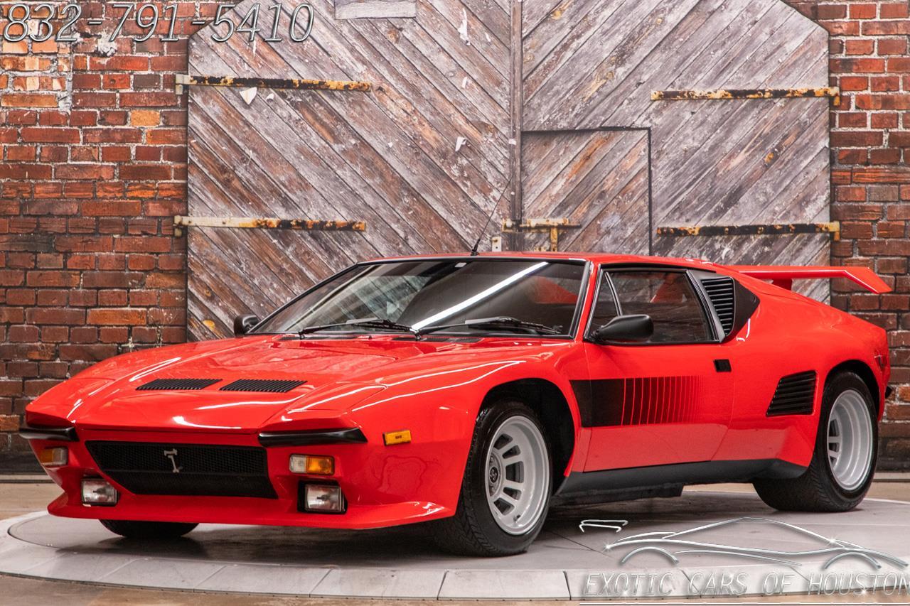 1987 De Tomaso Pantera GT5 S