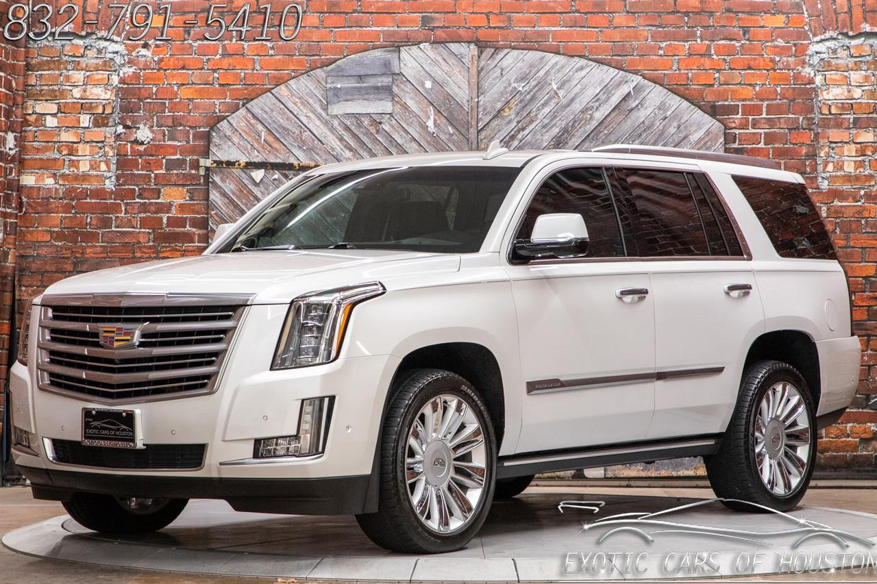 2018 Cadillac Escalade Platinum Edition