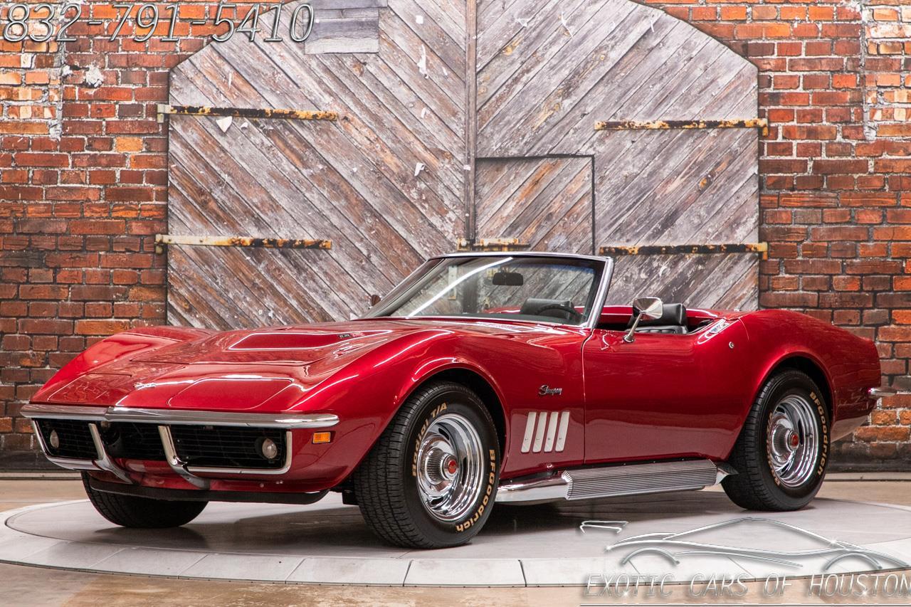 1969 Chevrolet Corvette Convertible LS3 Restomod