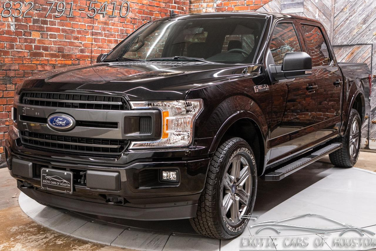 2020 Ford F-150 4X4 SuperCrew XLT