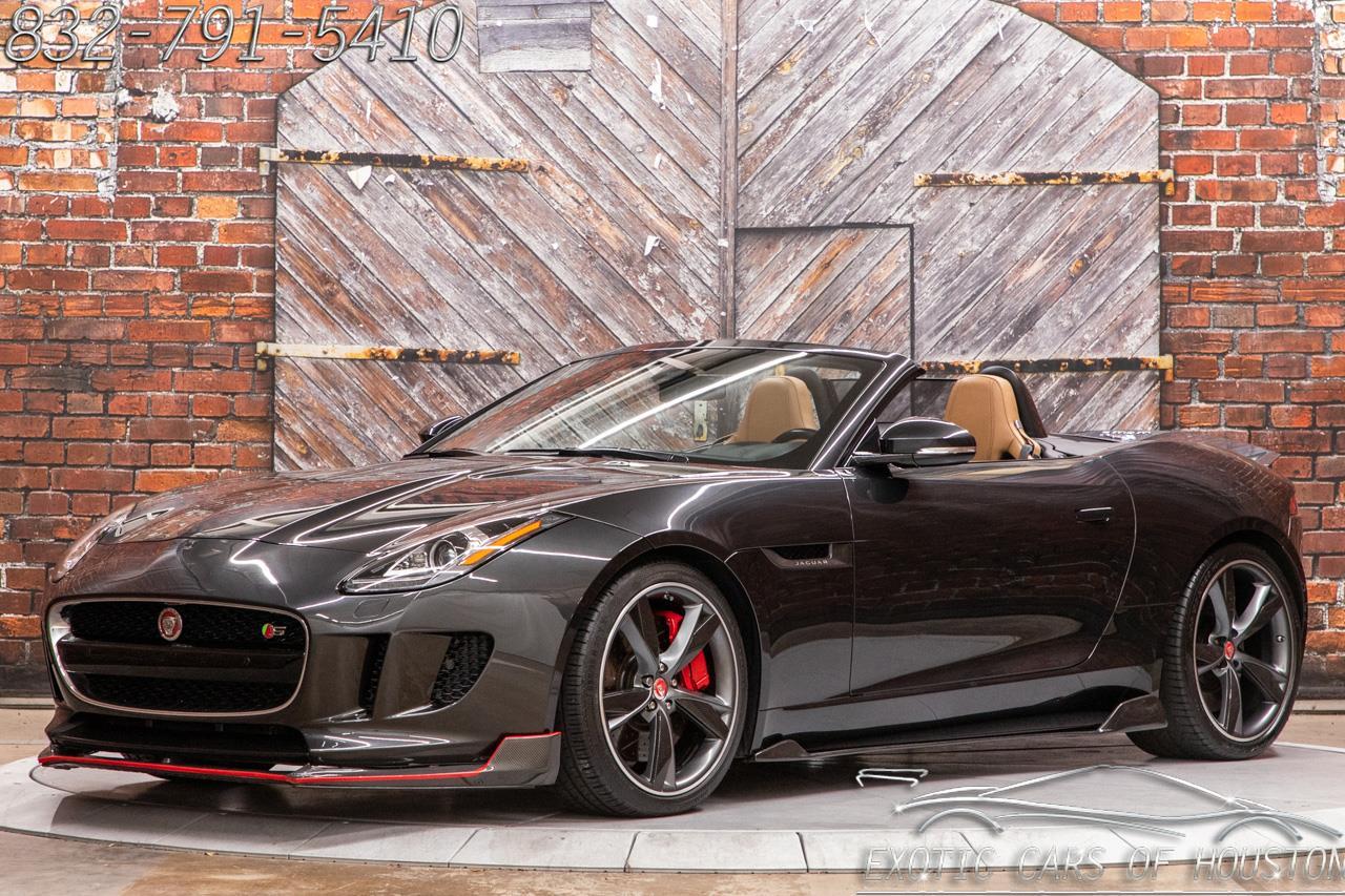 2015 Jaguar F-Type V8 S Convertible
